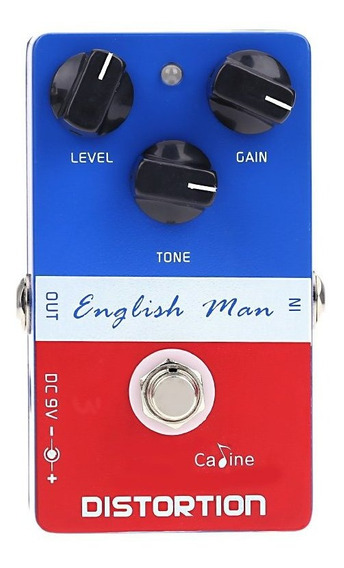 Pedal De Guitarra Caline English Man Distortion + Nf + Garantia