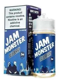 Esencia Jam Monster Blueberry 100ml Original / Tigovape
