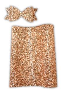 1 Vinil Para Moños Escarchado Glitter