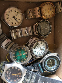 Lote De Relógios Sucatas Para Restauro Ou Aproveitamento 014