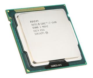 Procesador Intel Core I7-2600 3.4ghz 8mb Lga 1155 (usado /