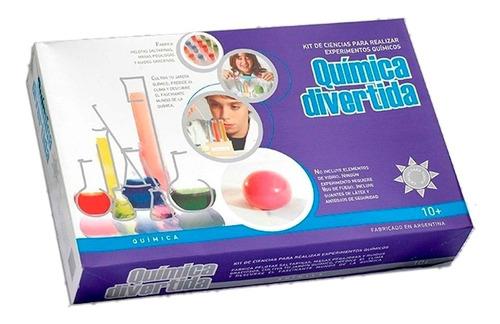 Kit Ciencia Quimica Divertida Ciencia Para Todos Experimento