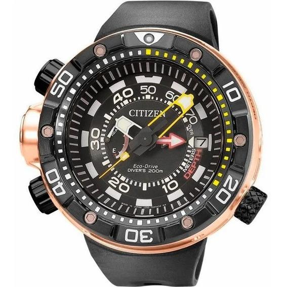 Relógio Citizen Aqualand Masculino Tz30740p Bn2027-07e New