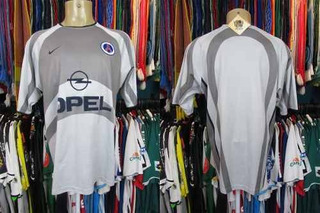 Paris Saint Germain 2001 Camisa Reserva Tamanho G.