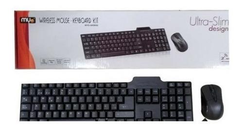Teclado Mouse Combo Myo Usb (myo-wkm90)