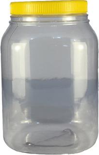 Frascos Plasticos 3000 Cc Con Tapa X 36 Unidades