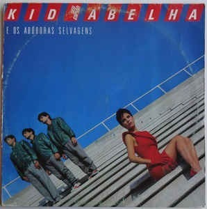 Kid Abelha E Aboboras Selvagens - Su Espia Lp Brasil Liniers
