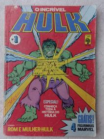 O Incrível Hulk Nº 1 - Mulher-hulk - Editora Abril - 1983