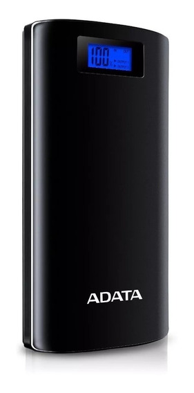 Power Bank Adata Ap20000d Capacidad 20000mah Negra