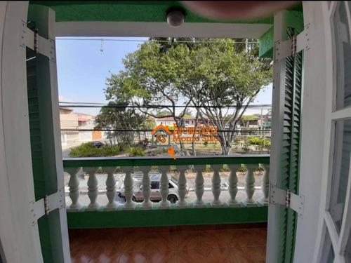 Imagem 1 de 23 de Sobrado Com 3 Dormitórios À Venda, 150 M² Por R$ 371.000,00 - Residencial Parque Cumbica - Guarulhos/sp - So0608