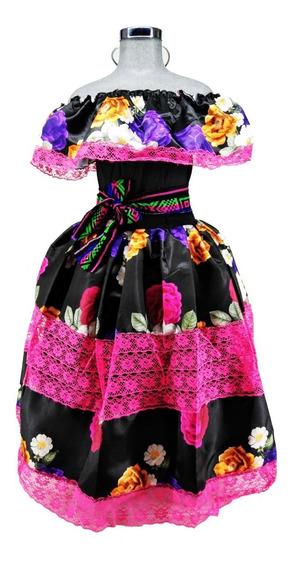 Vestidos De Catrinas Para Niñas Disfraces Y Botargas En