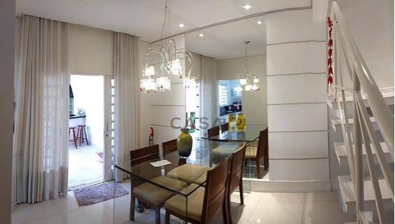 Casa Com 3 Dormitórios À Venda, 120 M² Por R$ 650.000,00 - São Vito - Americana/sp - Ca0499
