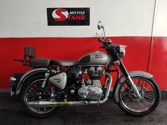 Royal Enfield Bullet Classic 500 Abs 2019 Cinza