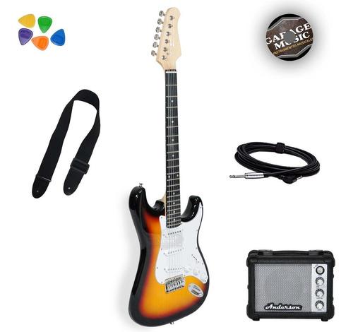 Guitarra Eléctrica Stratocaster Original Funda Amplificador