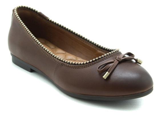 Flexi De Dama Zapatos Flats Casual 101702 Café Originales