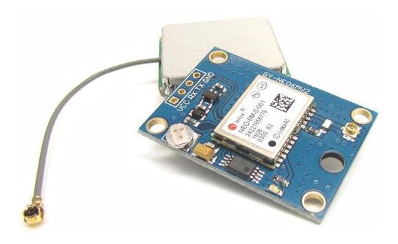 Gps Blox Neo 6m Antena Nmea Gy-gps6mv2 Drone Rs232 Arduino