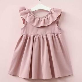 Vestido Infantil Laço Bebê Menina Lindo Pc 11