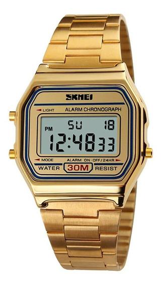 Relógio Skmei Digital 1123 Dourado