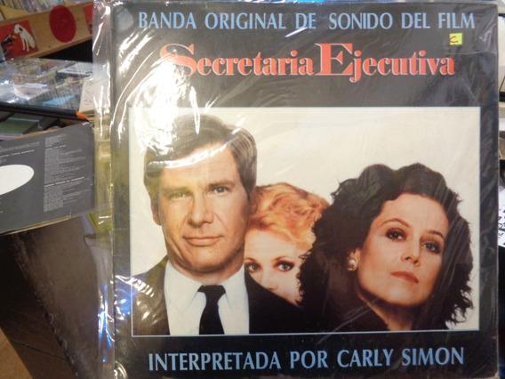 Secretaria Ejecutiva Carly Simon Disco Lp Vinilo K