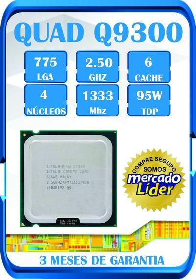 Processador Core 2 Quad Q9300 Temos E5450