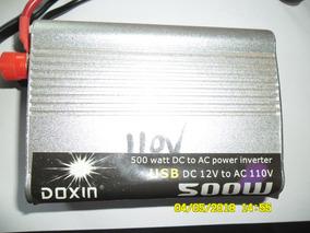 Inversor Marca Doxin - Dc 12v Para Ac 110v