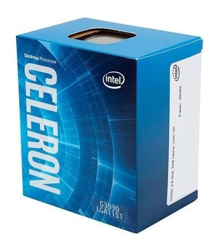 Celeron G3930 Usado C/ Caixa E Acessórios (incluindo Cooler)