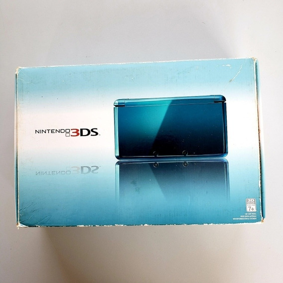 Nintendo 3ds Na Caixa Completo