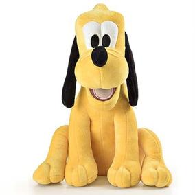 Personagem Pluto Pelúcia Alta Qualidade 33cm Com Som Br336