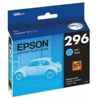 Cartucho Epson T296 Color Original Xp231 Xp431 296 Cada Uno