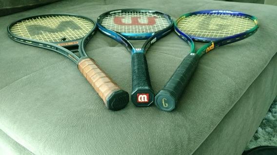Raquete Tênis 01 Com Capa - ( Usada Em Bom Estado ) -cfh