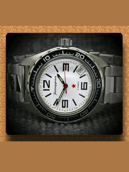Reloj Ruso Vostok Komandirskie Automático Diver 200m Nuevo!