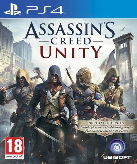 Assassins Creed UnityPs4 Midia Digital