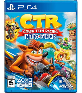 Crash Team Racing Nitro Fueled Ps4 Fisico Sellado + Regalo