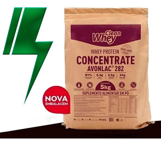 Clean Whey Concentrada Avonlac 282 5kg Glanbia Nutritionals