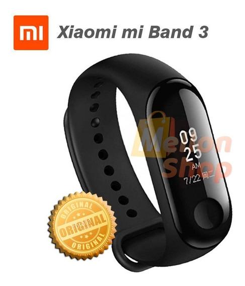 Relógio Xiaomi Mi Band 3 Preto Pulseira - Original Lacrado