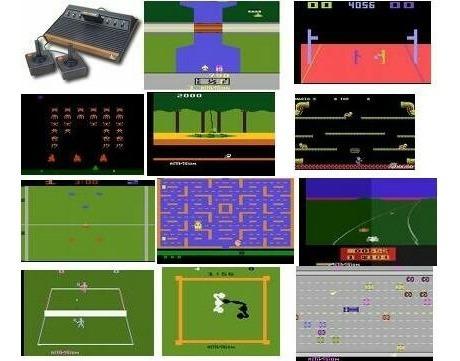 Emulador Atari Com Todos Os Jogos Para Ps2 Patch +800 Jogos