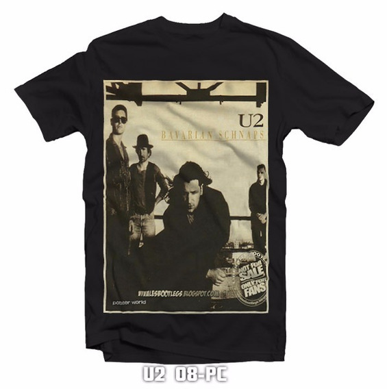 Playeras Poster U2 Bono The Joshua Tree Tours 2017