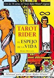 Tarot Rider + [ Libro El Espejo De La Vida | Mario Montano ]