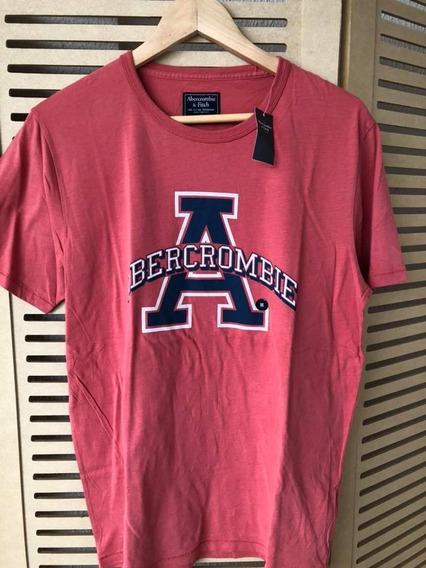 Camiseta Abercrombie Importada Masculina Original