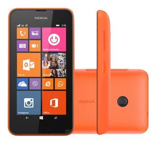 Smartphone Nokia Lumia 530 4gb Laranja Vitrine 1