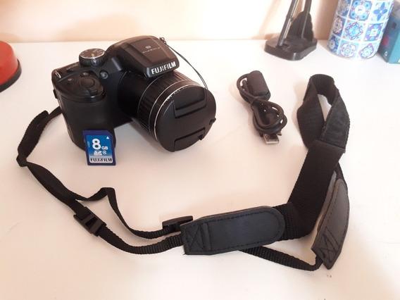 Câmera Fujifilm Finepix S4800 Preta. 16 Megapixels, Zoom 30x