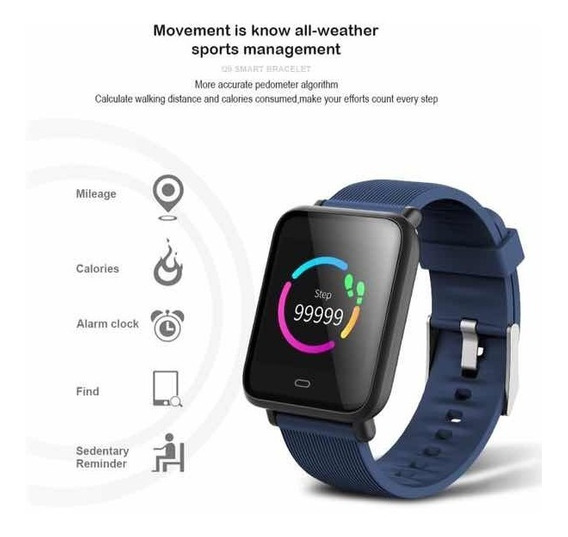Smart Watch O Relógio Masculino Inteligente Com Whatsaap Q9