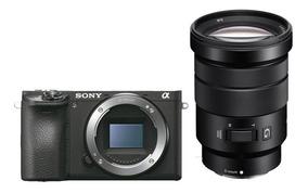 Câmera Mirrorless Sony A6500 + Lente 18-105mm F/4 Oss 4k