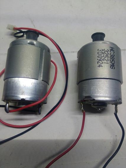Motorzinho De Impressora 12v Tamanho 55mm Kit Com 4