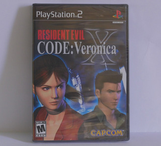 Resident Evil Code Veronica X - Playstation 2 Sellado