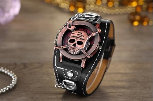 Top De Luxo Da Marca Pulseira De Couro Moda Relógio De Quart