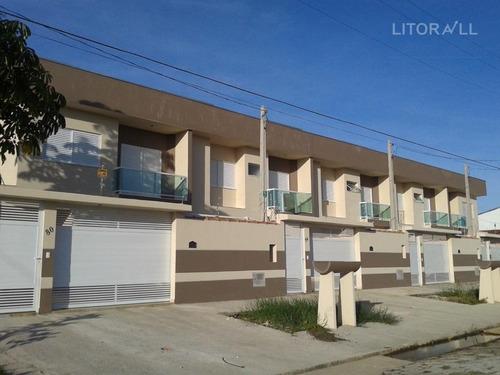 Sobrado Com 3 Dormitórios À Venda, 115 M² Por R$ 470.000,00 - Cibratel Ii - Itanhaém/sp - So0135