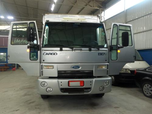 Imagem 1 de 15 de Caminhão Ford Cargo 1317 Com Plataforma Apenas 17.988 Km