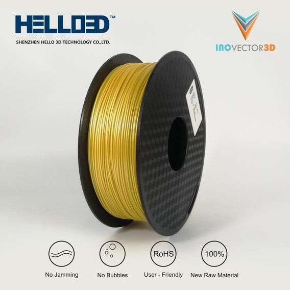 Filamento Pla Dourado - Para Impressão 3d - 1kg