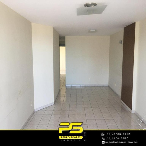 Apartamento Com 3 Dormitórios À Venda, 121 M² Por R$ 470.000 - Manaíra - João Pessoa/pb - Ap3516